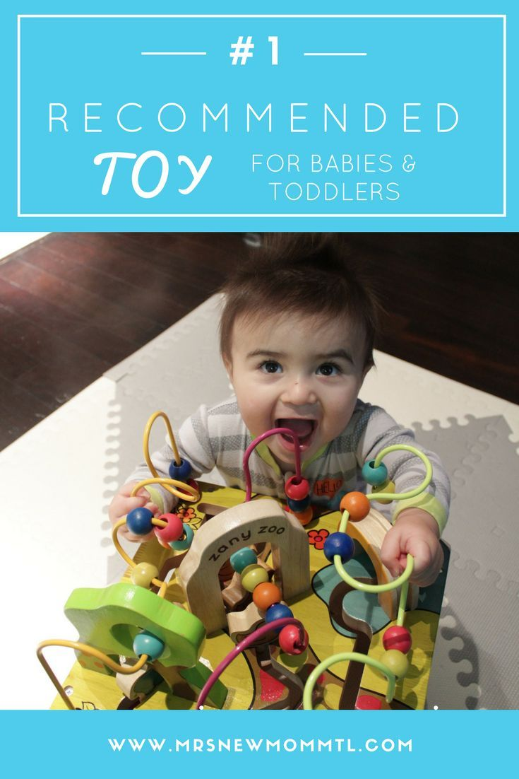 The BEST educational toy for babies and toddlers. It's durable, educational and they will have hours of fun!   Must have baby toy | toy review | baby toys | 3 months old | 6 months old | wooden toys | montessori principles | montessori toys | mom hacks |