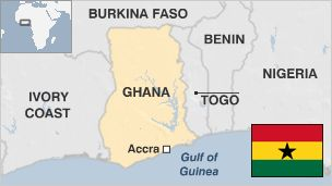 BBC Country Profile: Ghana. Ghana was the first place in sub-Sahara Africa where Europeans arrived to trade gold and slaves.