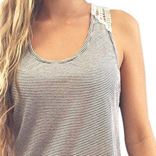 cool Sport tank tops HARRYSTORE Mujer camisetas deportivas sueltos y elásticos Mujer camisetas sin mangas deportivos mujer chaleco de encaje Fitness para correr Mas info: http://comprargangas.com/producto/sport-tank-tops-harrystore-mujer-camisetas-deportivas-sueltos-y-elasticos-mujer-camisetas-sin-mangas-deportivos-mujer-chaleco-de-encaje-fitness-para-correr/