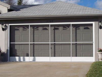 Garage Screen Doors, Sliding Garage Screen Doors - Garage Aire ...