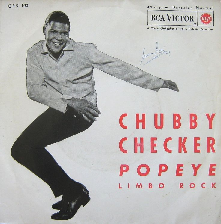 CHUBBY CHECKER - SINGLE VINILO - Popeye. Limbo Rock. 1962. RCA VICTOR   (EL DUENDE VERDE en Todocolección)