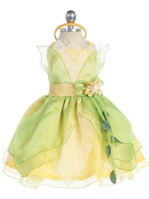 Baby Theme Dress - Princess Tiana - Birthday Costumes - GIRLS