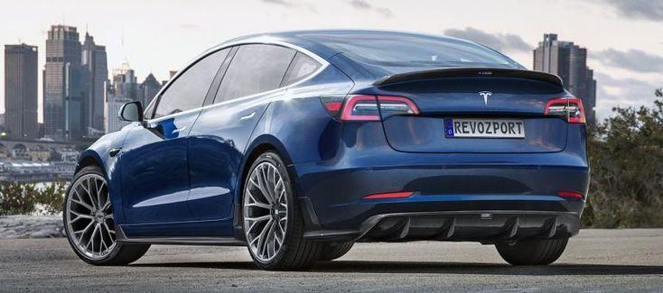 RevoZport's Latest Tesla Model 3 Aero Kit - Cars Accessories