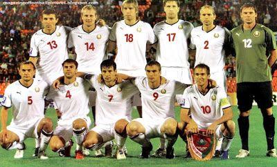 EQUIPOS DE FÚTBOL: SELECCIÓN DE BIELORRUSIA contra Croacia 12/08/2009