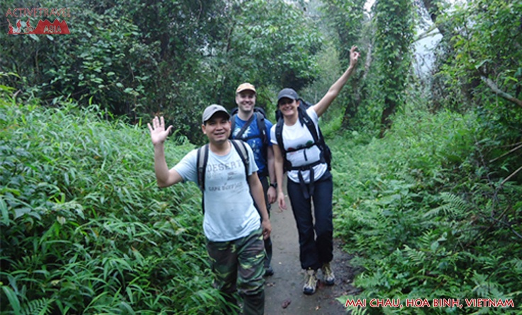 Trekking Cuc Phuong National Park, the most important site for biological research and conservation in northern Vietnam.  Find out more information: http://www.activetravelvietnam.com/tour.php?op=detail=26