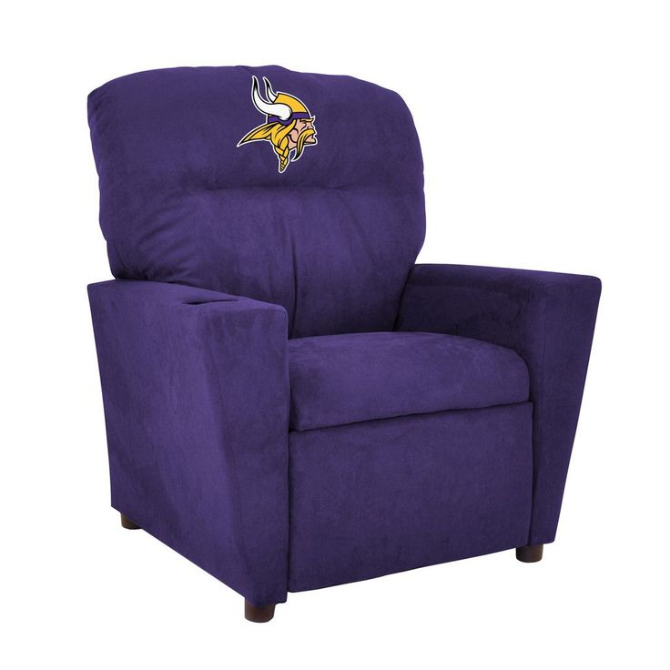 Minnesota Vikings Toddler Recliner w/ Cup Holder