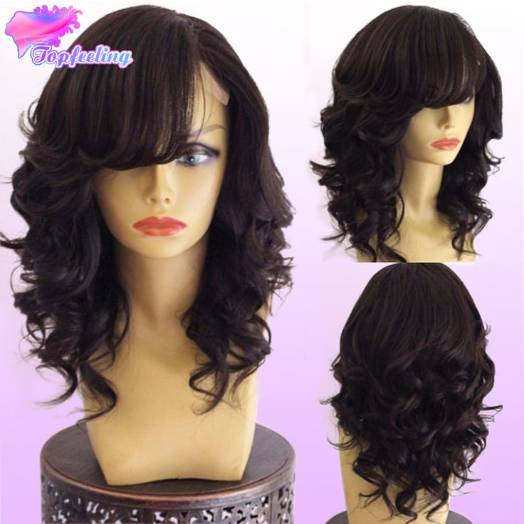Best Lace Front Wig Virgin Hair Malaysian Body Wave Full Lace Wig For Black Women Glueless Lace Front Human Hair Wigs With Bangs-in Human Wigs from Health & Beauty on Aliexpress.com | Alibaba Group