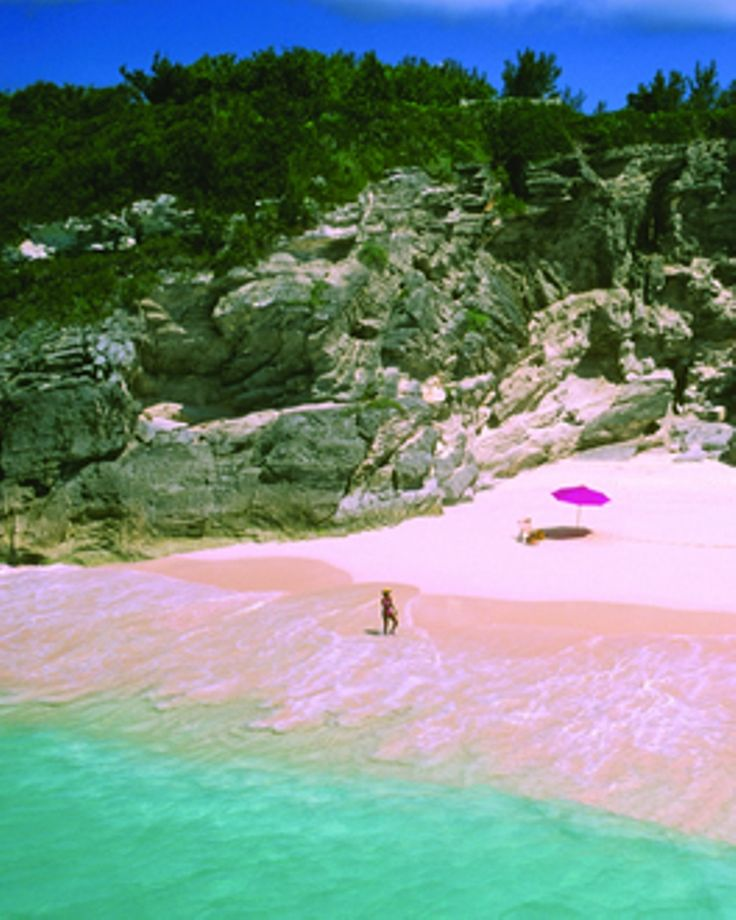 The Pink Sandy Beaches of Harbour Island, Bahamas