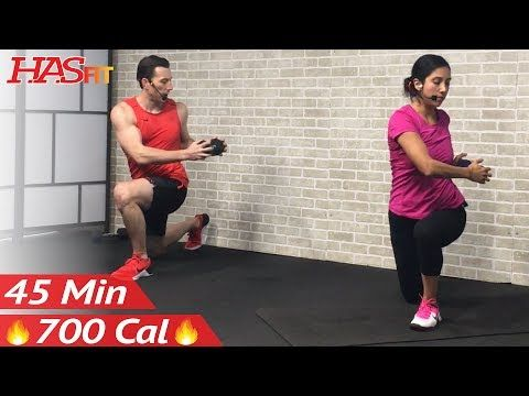 (12) 45 Min Tabata HIIT Workout for Fat Loss + Abs: High Intensity Interval Training at Home Routine - YouTube