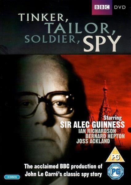 Tinker Tailor Soldier Spy (2 DVD Set / Alec Guiness / BBC 1979)