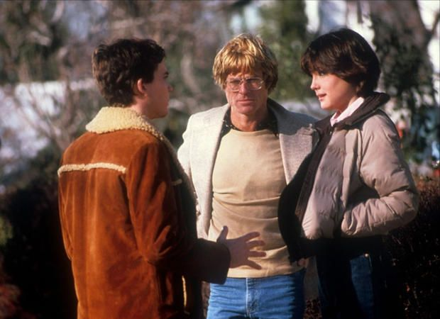 "Robert Redford's first film as a director, ""Ordinary People"" (1980), told the story of an upper-middle-class family torn by the death of one son and the attempted suicide of another. Timothy Hutton and Elizabeth McGovern (left, with Redford) starred with Donald Sutherland, Mary Tyler Moore and Judd Hirsch. The film won four Oscars, including Best Picture and Best Director for Redford."