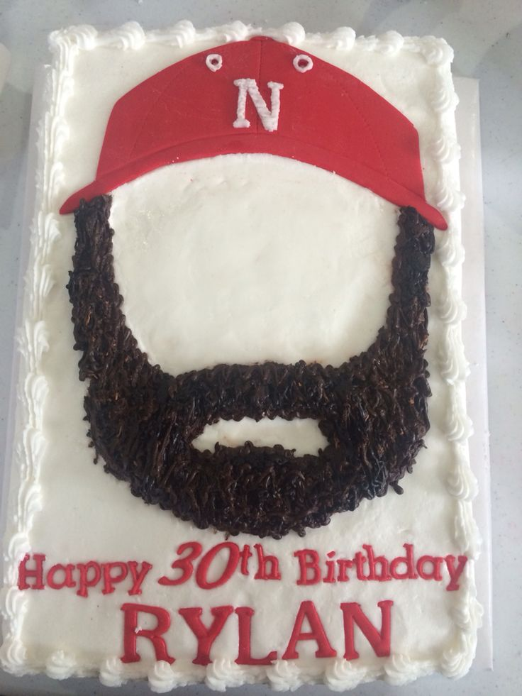 Beard Cake My Cakes Birthday Cakes For Men Funny