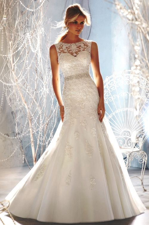 Fit and Flare Wedding Dresses | all about wedding