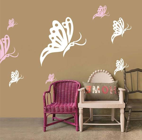 baby wall designs. Butterfly Wall Decals 141 best Nursery Room Designs images on Pinterest  Child room