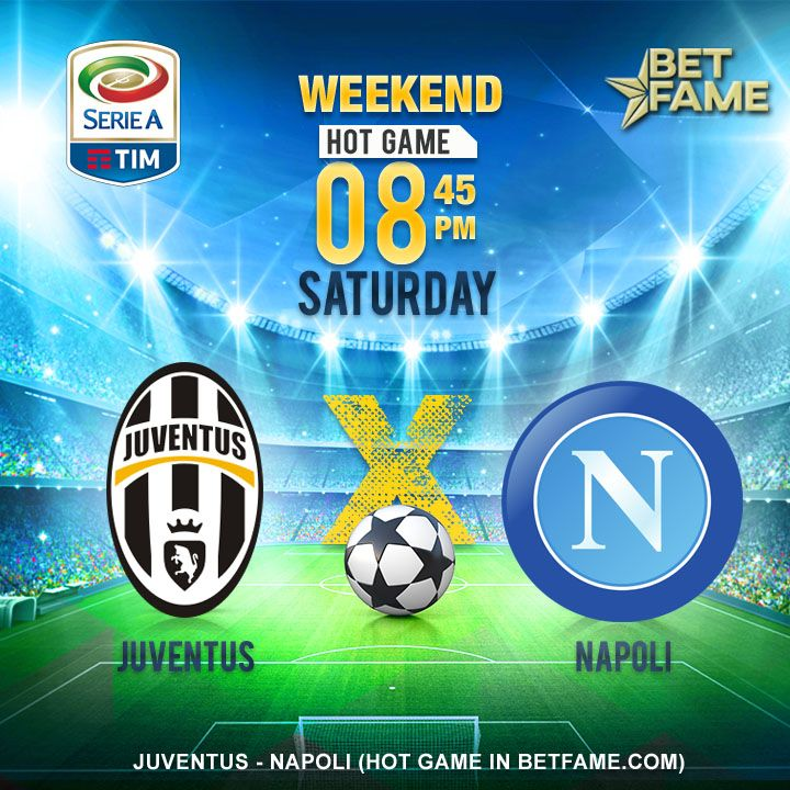 Profitable weekend with BetFame hot game! Saturday fixture Juventus -  Napoli. . #betfame