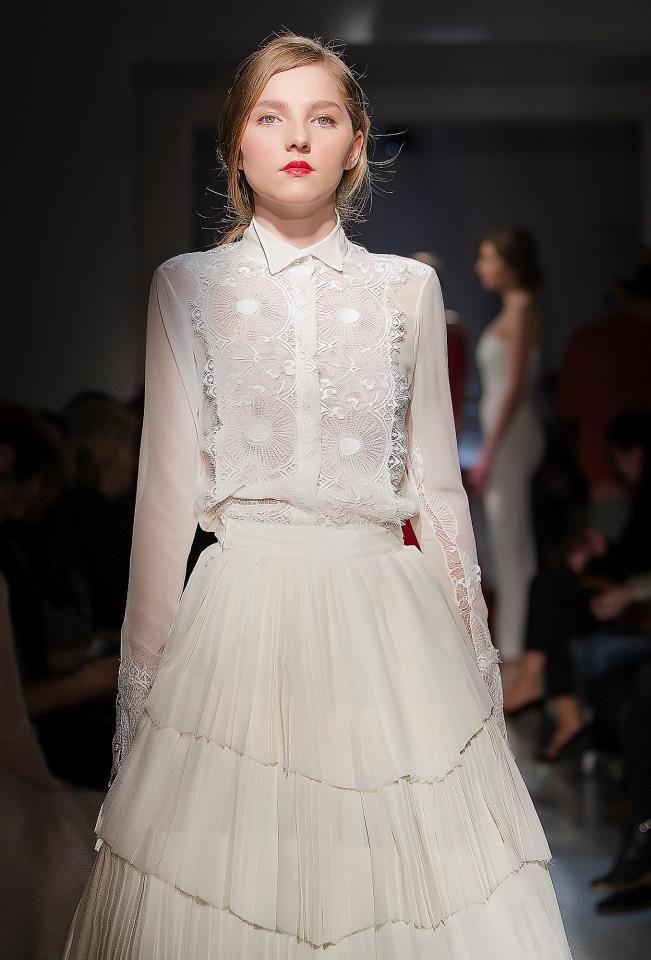 Parlor Fashion Show! #silk #fashion #lace #beautiful #glamour #parlor