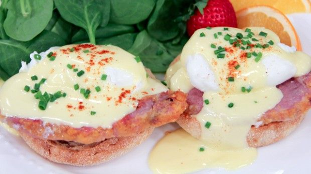 Decadent Eggs Benedict | Steven and Chris |  from Chef Michael P. Clive. The ideal Christmas Breakfast :)