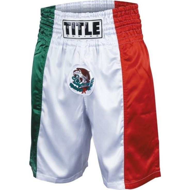 Bandeira Mexicana título Calção Boxe | Artigos esportivos, Boxe, artes marciais e MMA, Roupas, calçados e acessórios | eBay!