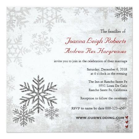 Top 20 Best Winter Theme Wedding Invitations