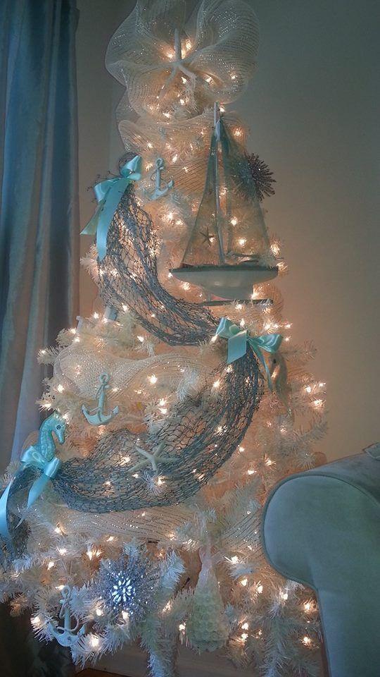 Best ideas about coastal christmas decor on pinterest