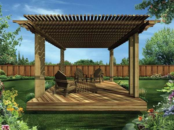Diy Patio Roof Ideas For Our Back Yard Pinterest