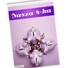 Kalendarz NASZA 4-KA idealny na urodziny