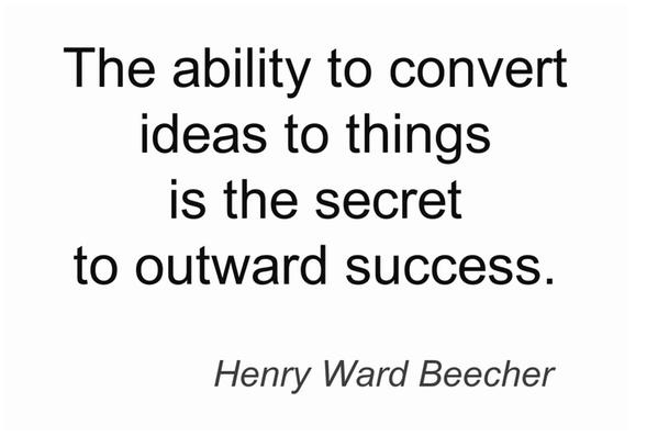 Secret of #sucess: Thoughts Thoughts