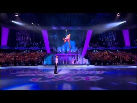 Dancing in Ice 2014 R8 - Hayley Tamaddon Flying - YouTube