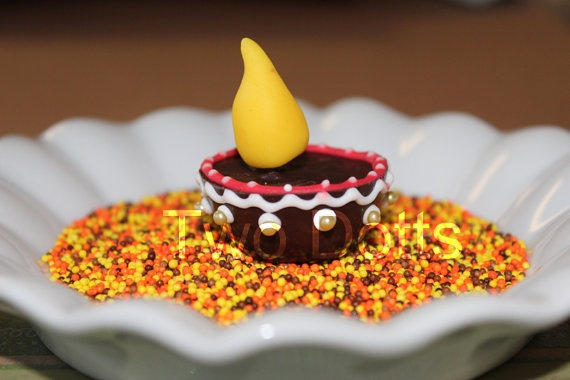 The Party Wall: Diwali Inspirations - chocolate diyas