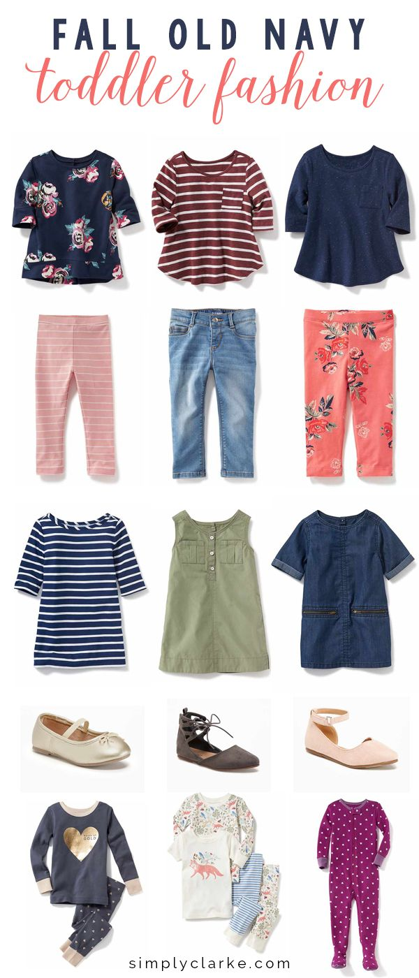 Fall Old Navy Toddler Fashion - Simply Clarke