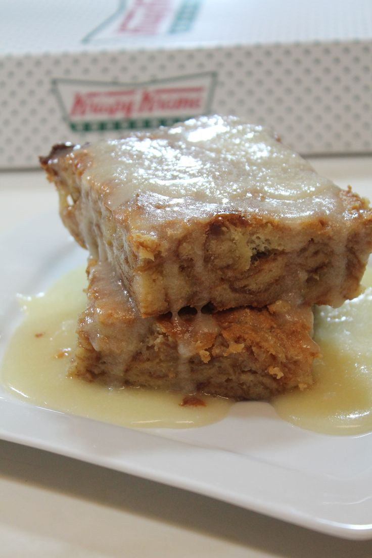 Krispy Kreme Bread Pudding Recipe ***Aunt Shoppie added 3 jiggers of Rum.***