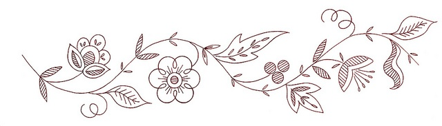 Aninimal Book: simple sketch floral embroidery pattern | embroidery ...