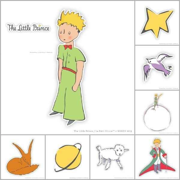 Stickers little prince id e inspirante pour for Photo chambre adulte romantique