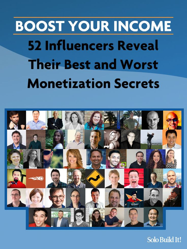 Boost Your Income: 52 Influencers Reveal Their Best and Worst #Monetization Secrets #BlogTips #OnlineBusiness #OnlineBiz
