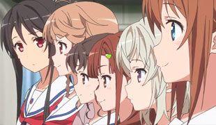 Haifuri Online Capítulo 10 Sub Español - Anime 2016