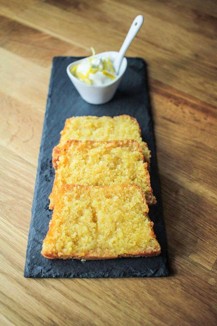 ... Free Sweets on Pinterest | Polenta cakes, Polenta and Lemon drizzle