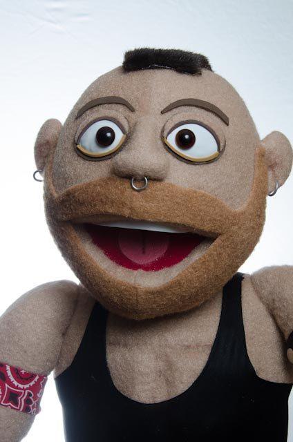 A human sock puppet - 2 10
