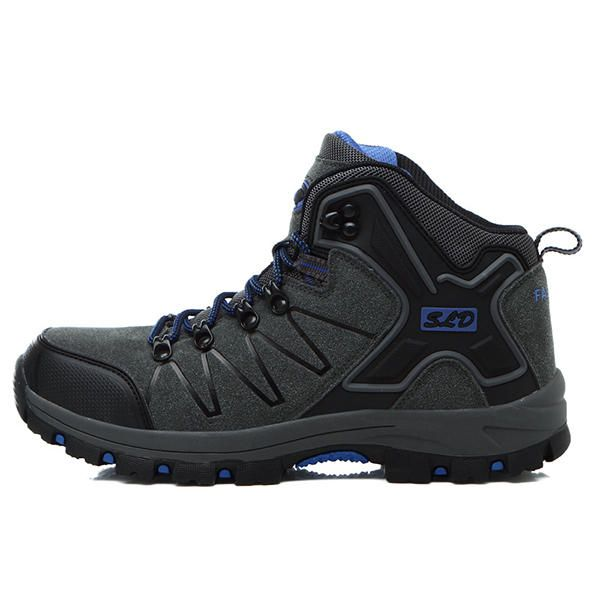 Men Warm Boots Outdoor Hiking High Top Athletic Shoes - US$57.91