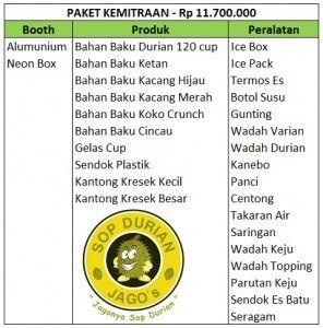 Tertarik untuk berbisnis Franchise Sop Durian Jagos, Hubungi Firdaus 085693123544-7EDEC30A Kualitas Terbaik Harga Terjangkau.