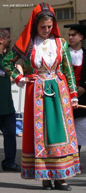 Abito tradizionale di Gavoi