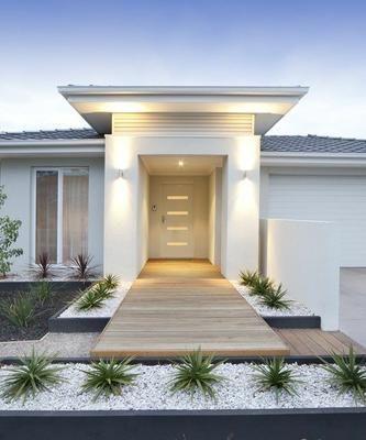 Inspiración para convertir la entrada de tu casa en la puerta al paraíso.