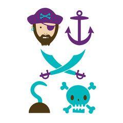 They also create custom temp tattoos  Tattyoo Ahoy Matey! (blue) by Emily Dumas