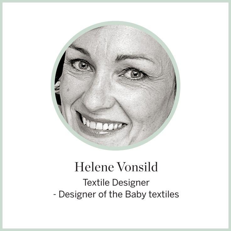 Designer Helene Vonsild  #FLEXA #Designer #Babytextiles #art #kids