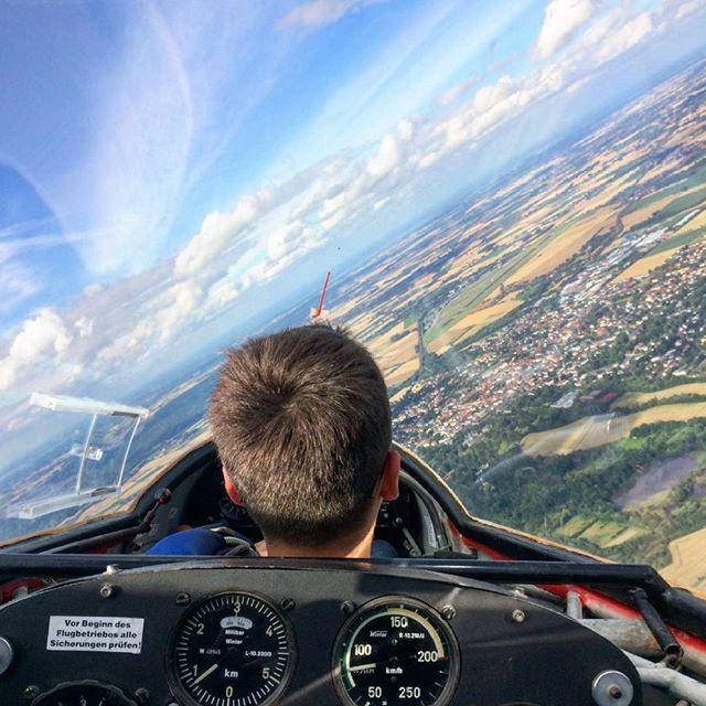 Segelfliegen! ♥  #sooobock#segelfliegen#ask13#