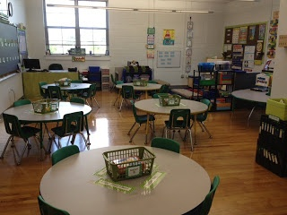 Classroom Set Up I Love Round Tables