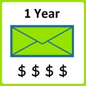 Email Marketing 1 Year