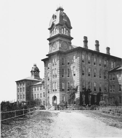 Arkansas State Lunatic Asylum, Little Rock