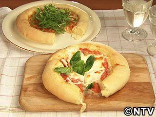 モチモチタイプ、トッピングはお好みでどうぞ!「手作りピザ2種」のレシピを紹介!