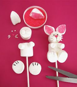 Lindsay Ann Bakes: Easter Bunny Marshmallow Pops