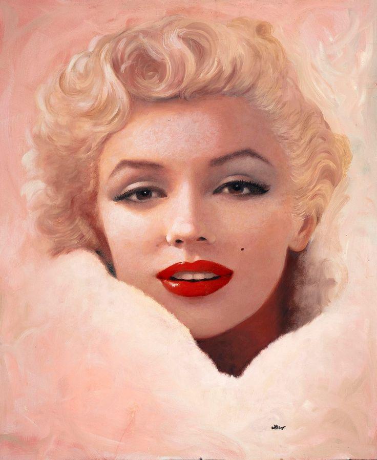 Marilyn Monroe by Ron Lesser